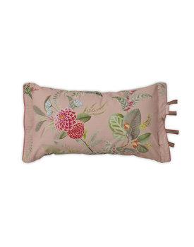 Pip Studio sierkussen Floris roze 35x60