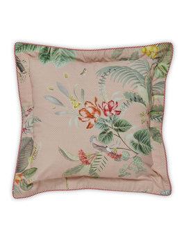 Pip Studio sierkussen Floris roze 45x45