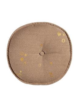 VTwonen sierkussen Dot round zacht-roze 40x40