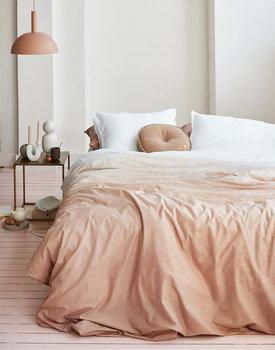 VTwonen dekbedovertrek Dip Dye pink