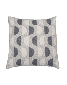 David Fussenegger sierkussenhoes Half circles 50x50 light-grey