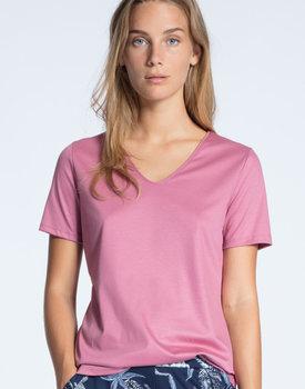 Calida dames pyjamatop kort 14051 roze 293