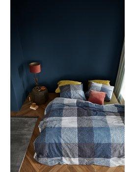 At Home By Beddinghouse Dekbedovertrek Andros Blue