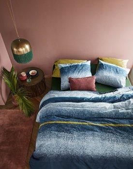At Home By Beddinghouse Dekbedovertrek Camden Blue