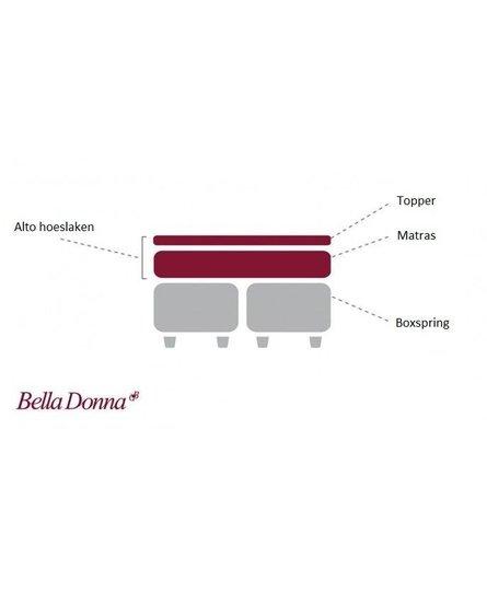Bella Donna Alto Boxspringhoeslaken Twijfelaar