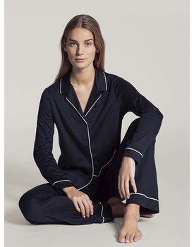 Calida dames pyjama 43629 donkerblauw 339