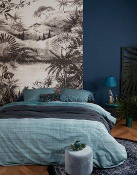 At Home by BeddingHouse Dusk Dekbedovertrek - Blauw