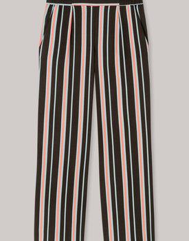 Schiesser pyjama broek dames 171677 olijf streep