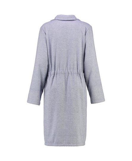 Cawö 5306 Dames Korte jas met tunnelriem en ritssluiting - blau-16