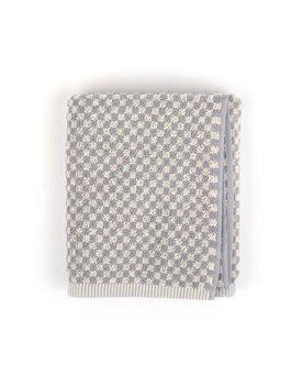 Bunzlau Castle keukendoek Small Check grey 53x60