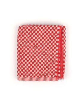 Bunzlau Castle keukendoek Small Check red 53x60