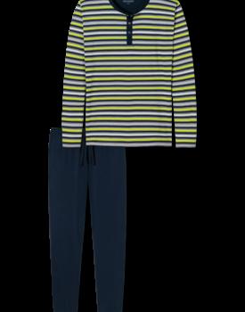 Schiesser heren pyjama lang 166145 citroen