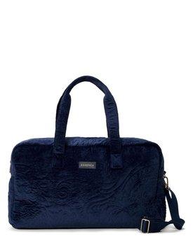 Pebbles Velvet Weekender bag