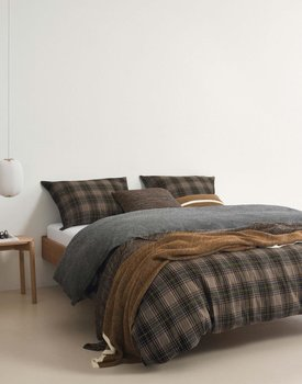 Marc'O Polo Halfoss Duvet cover- Warm pecan