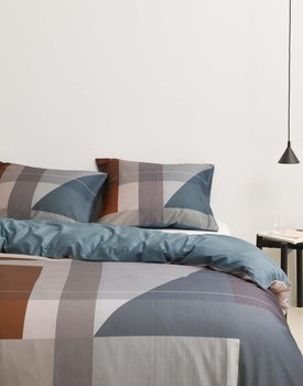 Marc'O Polo Meja Duvet cover- Earth blue