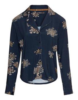 Essenza Senna Lauren Pyjama top long sleeve – Indigo blue