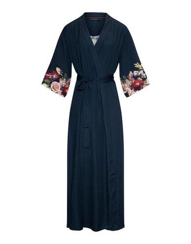 Essenza Essenza Jula Anneclaire Kimono - Indigo blue