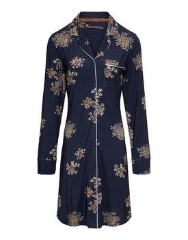 Essenza Laka Lauren Nightdress long sleeve – Indigo blue