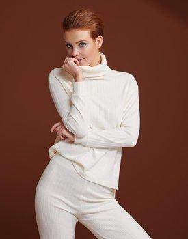 Essenza Filippa Uni Sweater – Meringue