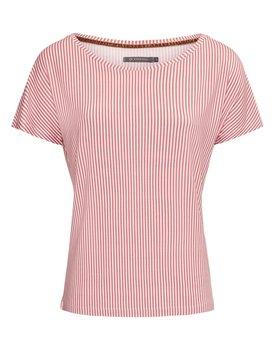 Essenza Ellen Striped Top Short Sleeve – Rabarber