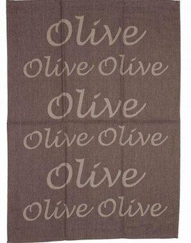 Stuco Trends Textiles Olive Jaquard Theedoek