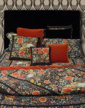 Roberto Cavalli dekbedovertrek Enchanted Garden  red 240x200/220