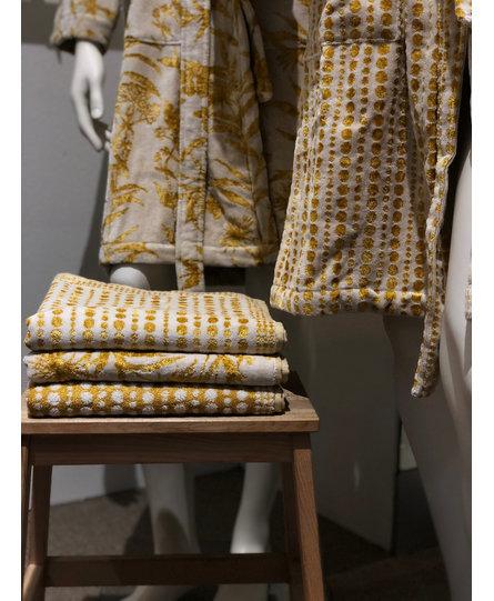 Carrara handdoek Bijoux Gold 60x110