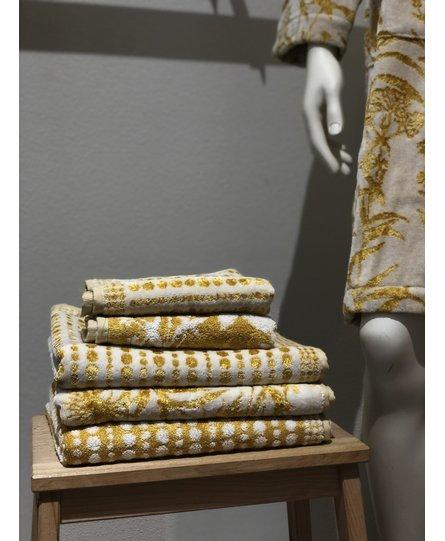 Carrara badhanddoek Gold Ramage 95x150
