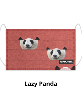 Snurk Mondkapje  Lazy Panda