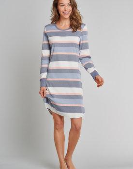 Schiesser Pyjama 171680 dames blauw