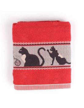 Bunzlau Castle keukendoek Cats red