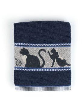 Bunzlau Castle keukendoek Cats dark blue