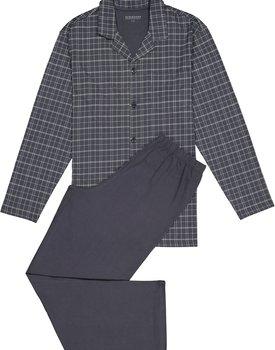 Schiesser Pyjama 159635 heren antraciet