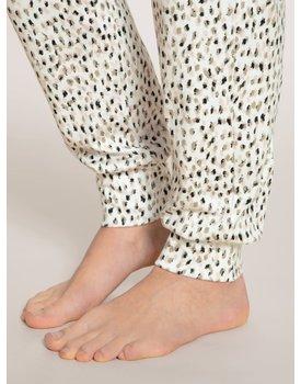 Calida dames pyjamabroek lang 29695 star white