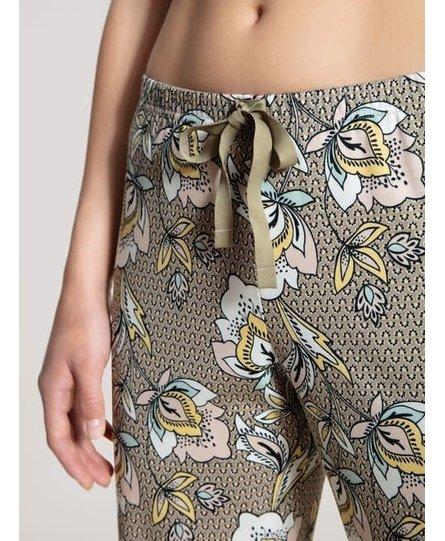 Calida dames pyjamabroek lang 29395 coriander