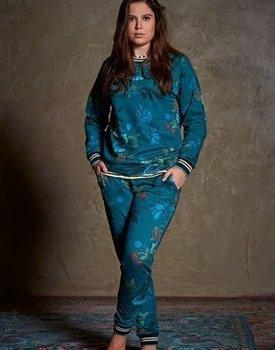 Pip Studio Tulipa Long Sleeve Leafy Stitch Big Blue