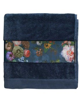 Essenza Fleur Handdoek Blue 60x110