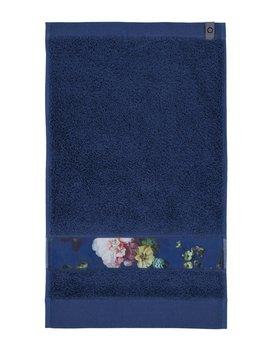 Essenza Fleur gastendoek Blue 30x50