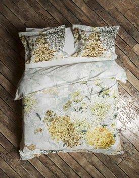 Heckett & Lane dekbedovertrek Chrys Mimosa-White