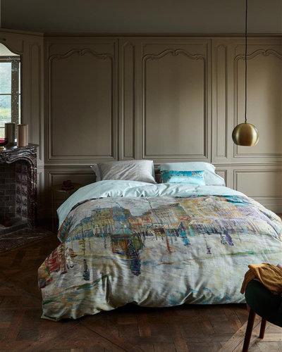 Beddinghouse Beddinghouse x Van Gogh dekbedovertrek Boulevard grijs