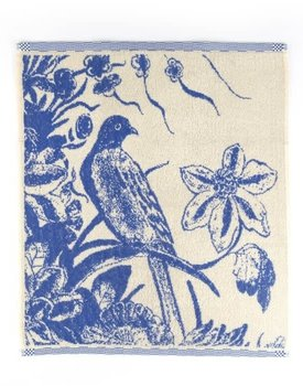 Bunzlau Castle keukendoek Delfts blue bird