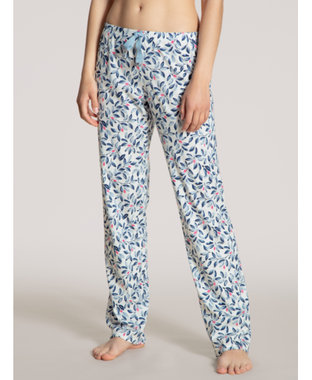 Calida dames pyjamabroek lang 29395 star white 910