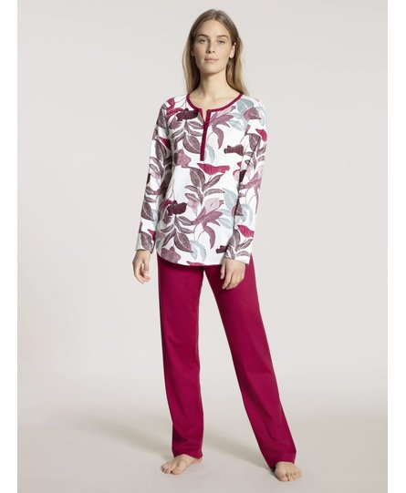 Calida damespyjama 40730 rood