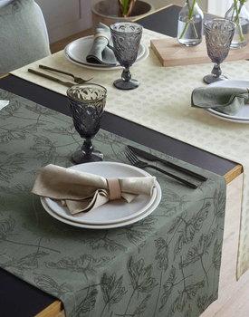 Sander placemat Lara green-32 35x50