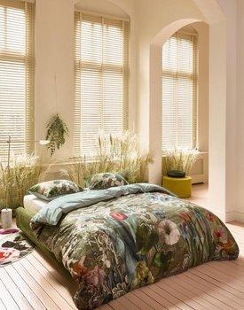 Essenza Nadia Dekbedovertrek Sage green 200x200x220