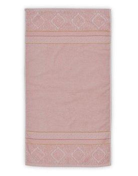 Pip Studio handdoek Soft Zellige 55x100 Pink