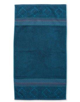 Pip Studio handdoek Soft Zellige 55x100 Donkerblauw