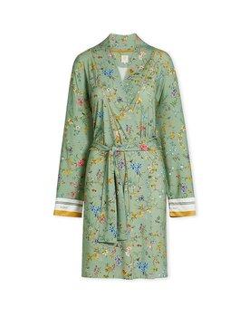 Pip Studio Nisha Kimono Petites Fleurs Green M