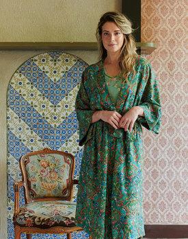 Pip Studio Naomi Kimono Pippadour Green XL