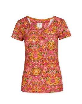 Pip Studio Tilly Short Sleeve Pippadour Pink M